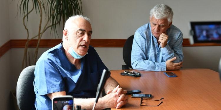 Dichiara y jorge busca conferencia de prensa