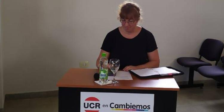 Paula Martinez UCR Cambiemos Monte Hermoso