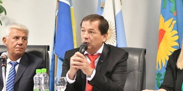 David Quintana presidente del Concejo Deliberante de Monte Hermoso