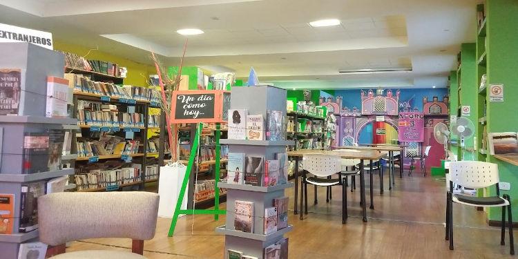 Biblioteca popular de Monte Hermoso interior