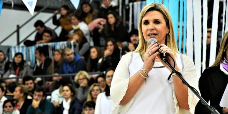 María Ester Alonso directora Escuela n° 1 Monte Hermoso