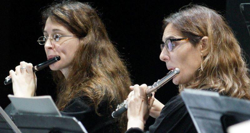 vientos orquesta sinfónica de Bahía Blanca