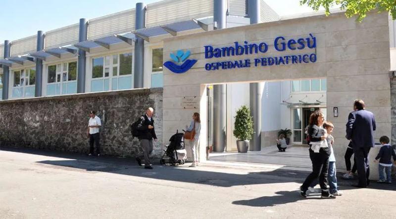 Hospital Bambino Gesu en Italia estudio sobre la neturalización del COVID