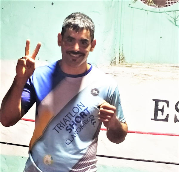 Carlos Martínez box La vieja escuela Monte Hermoso