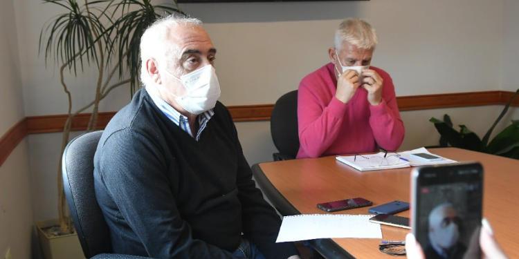 Busca y Dichiara Conferencia de Prensa Monte Hermoso