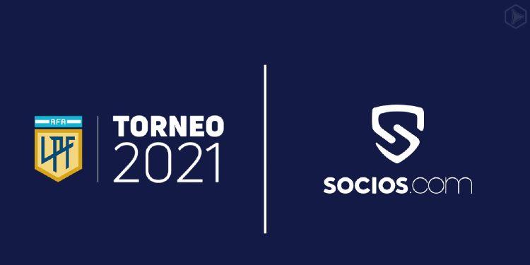 Socios.com sponsor fútbol argentino