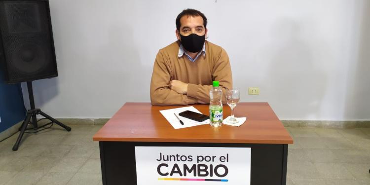 Victorio Dupuy en el Concejo Deliberante Monte Hermoso