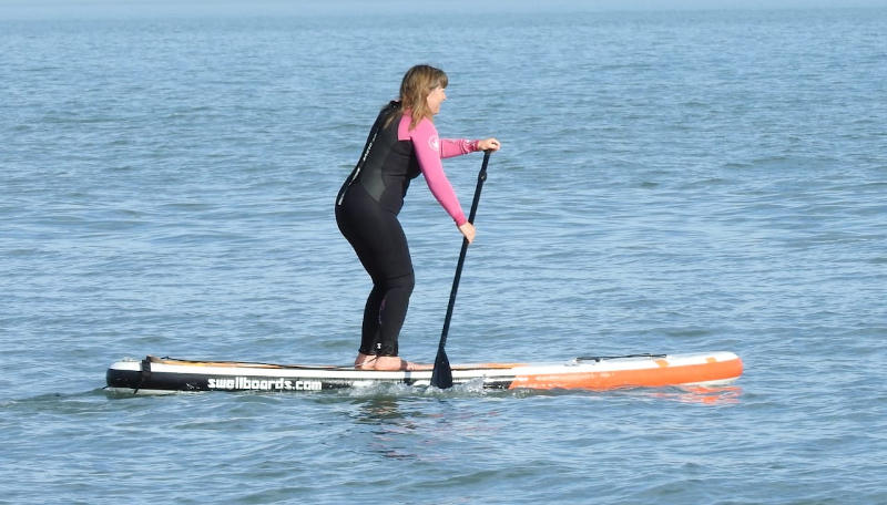 Stand up paddle en Monte Hermoso