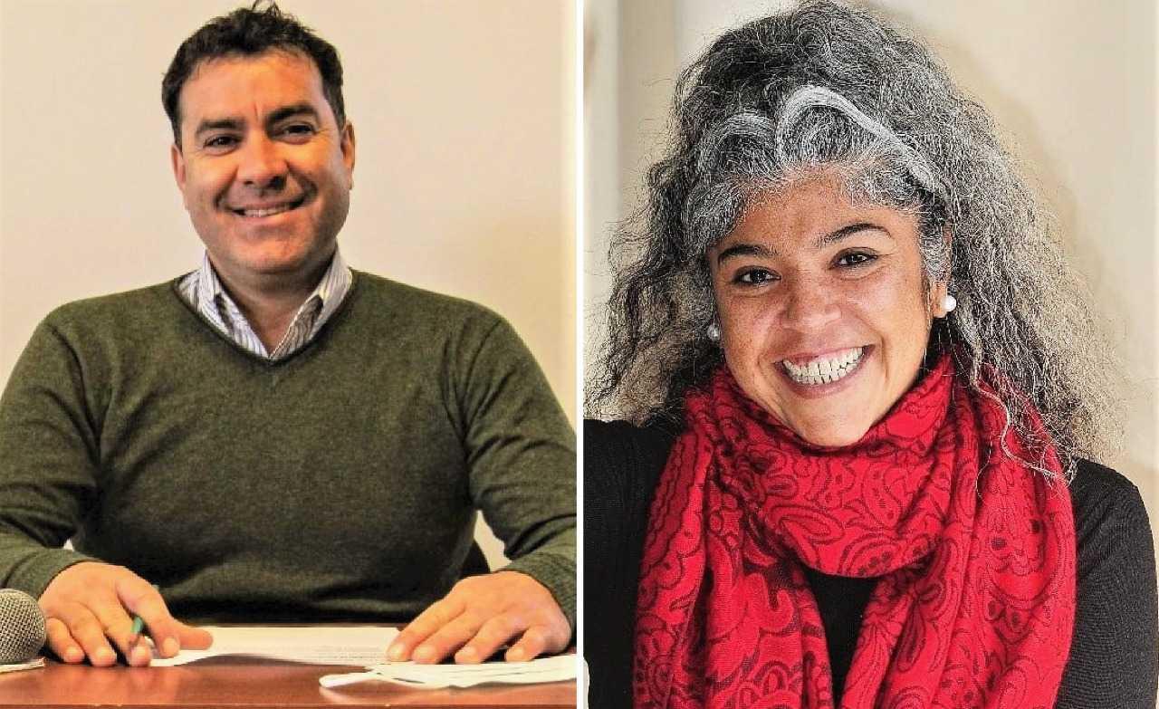 Diego Ramil y Natalia Abraham, precandidatos a concejales por el Frente de Todos