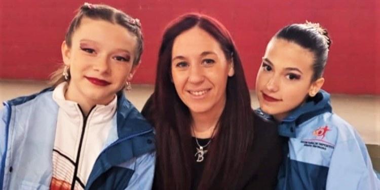 Bianca Pérez, Lara Mastrangelo y María Belén Cassano